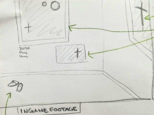 sketch of inside